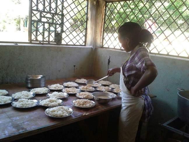 Haiti feeding program