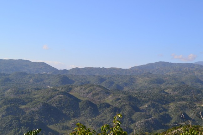 mountains of Haiti